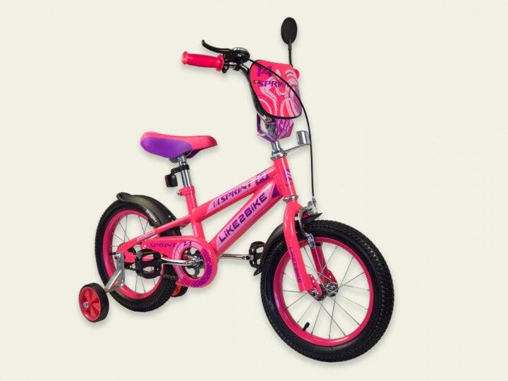 Двухколесный детский велосипед 14 дюймов Like2bike Sprint 191420