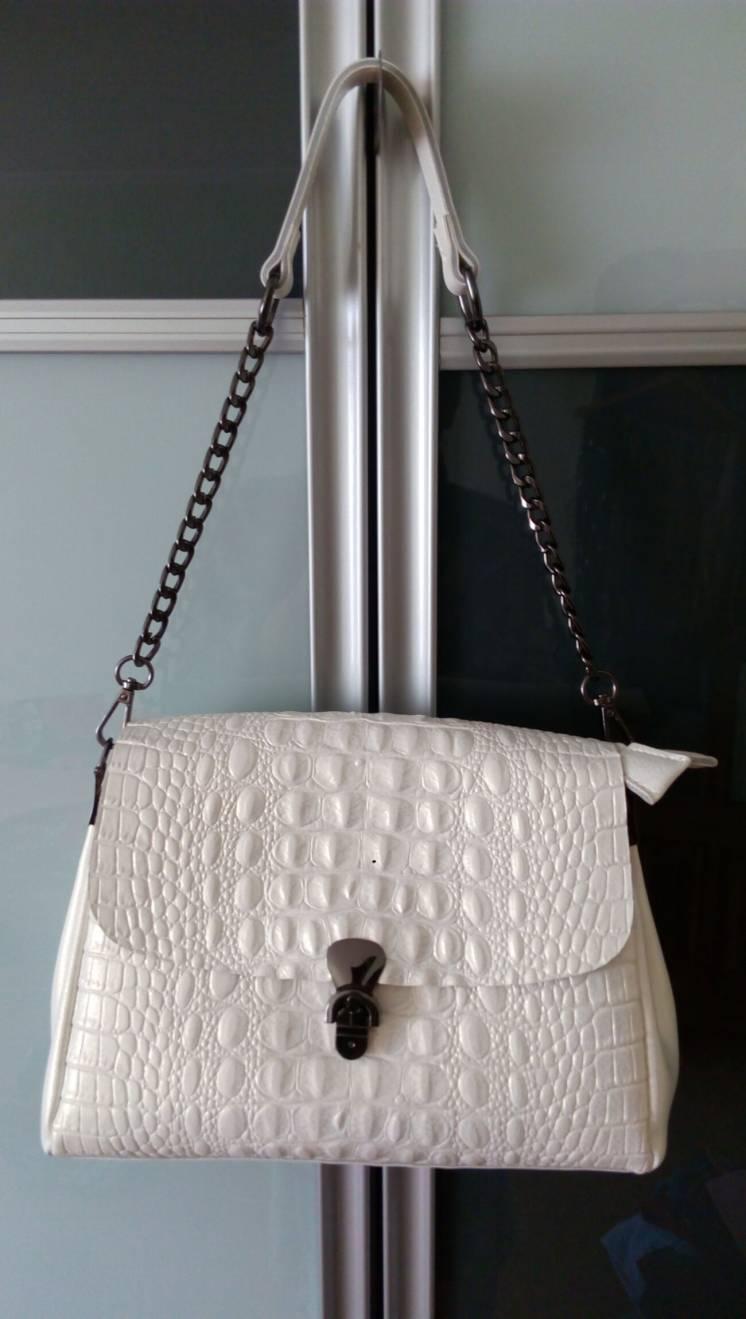 Женская сумка из натуральной кожи. Новая