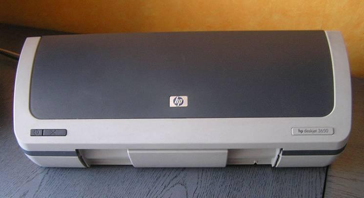 Принтер HP Deskjet 3650 цветной струйный