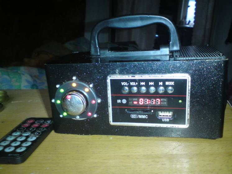 усилитель звука с мр-3