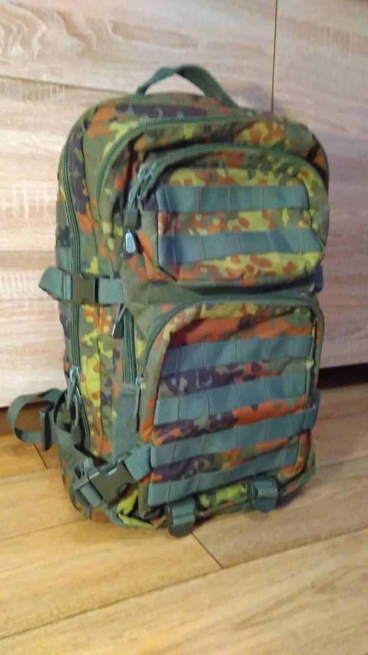 Mil-tec assault pack 40l Flecktarn (Б/У)
