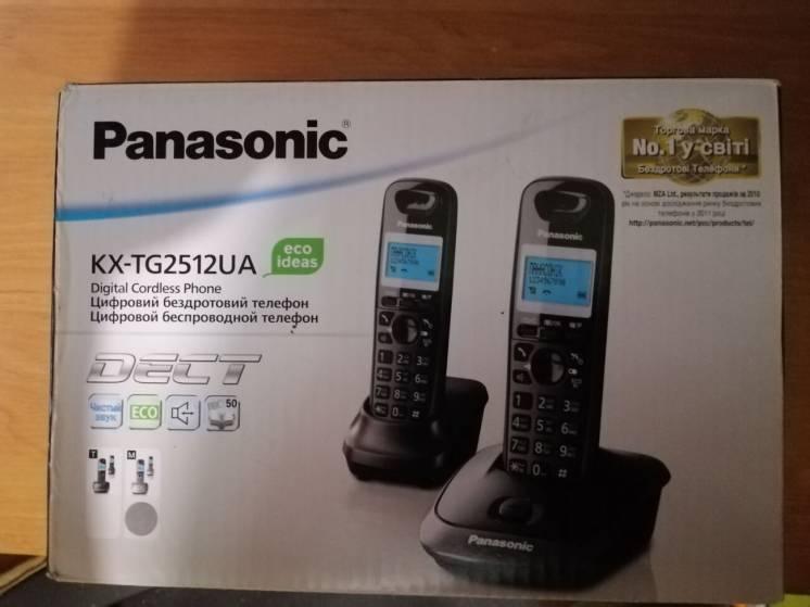 Телефон DECT Panasonic KX-TG2512UA