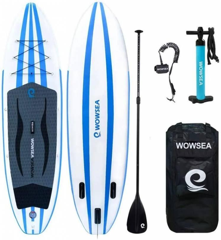 Новая надувная доска SUP WOWSEA AN15, 3,35м, комплект из Германии