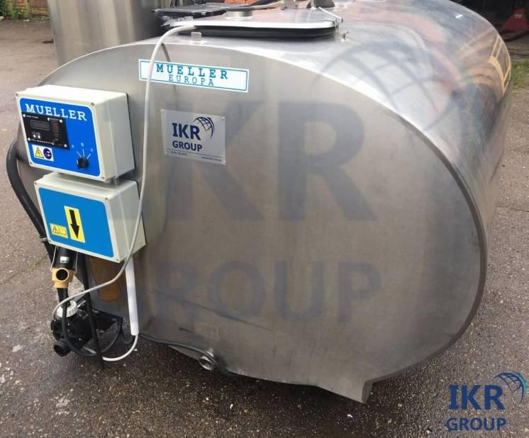 Танк охладитель молока  Mueller б/у объёмом 2150 литров