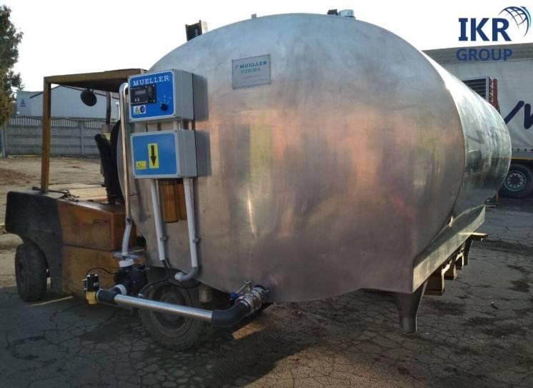 Охолоджувач молока (танк) Mueller объёмом 3000 литров