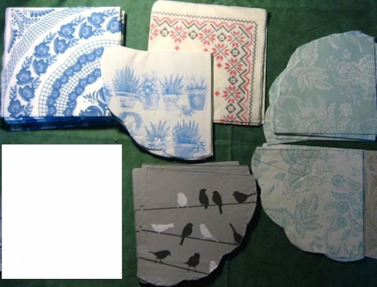 салфетка для декупажа вышиванка украинский узор этностиль