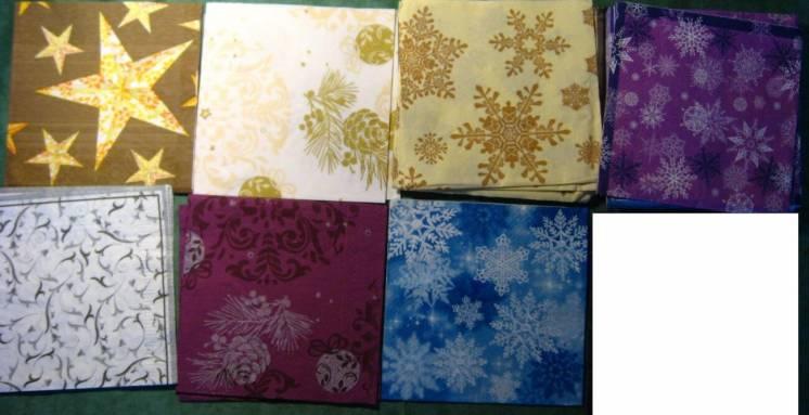 салфетка для декупажа снежинки, завитушки, звёзды, новый год. торг.