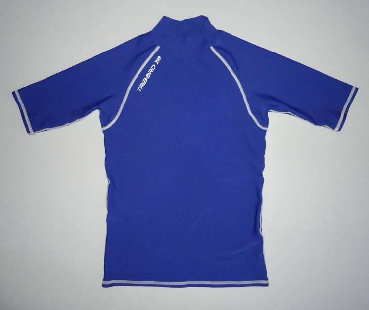 Гидрофутболка  TRIBORD UPF40+ серфинг рафтинг синяя (S-М)