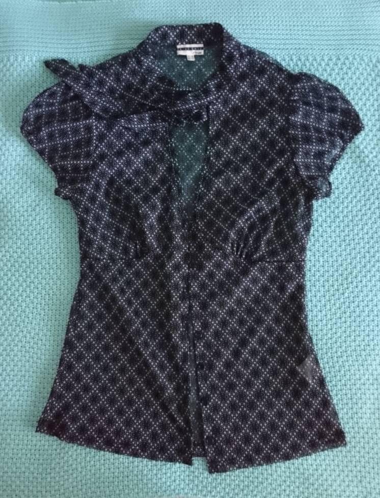 Легкая полупрозрачная блузка Etam