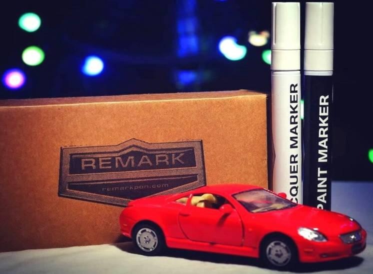Набор для удаления царапин автоэмаль Remark цвет Ford 17V Panther Blac