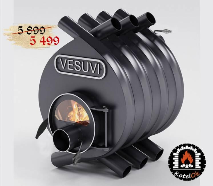 Буржуйка булерьян на 100 м.куб тип 00 Vesuvi