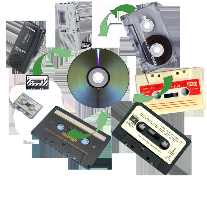 Оцифровка аудио кассет г Николаев