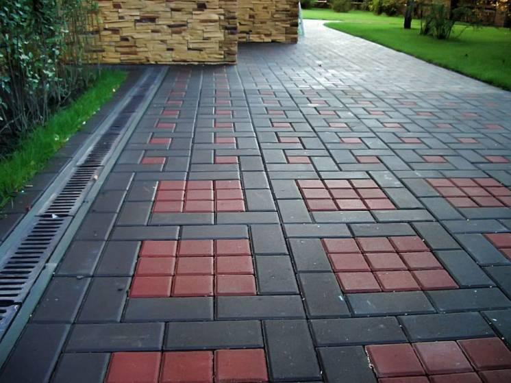 Услуги по укладке тротуарной плитки (любой сложности)