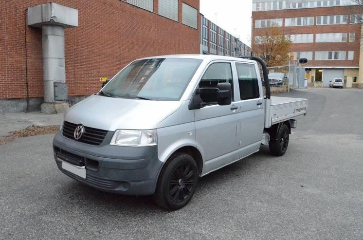 Volkswagen Transporter Double Cab 2.5 TDI
