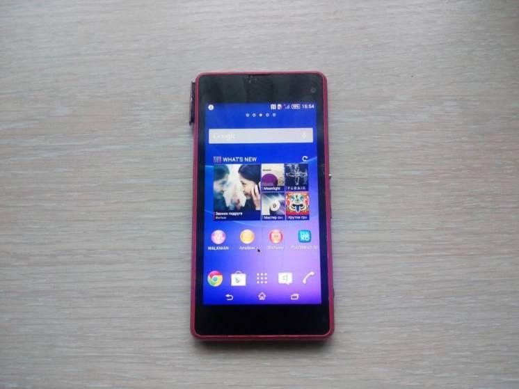 телефон Sony Xperia Z1 Compact D5503