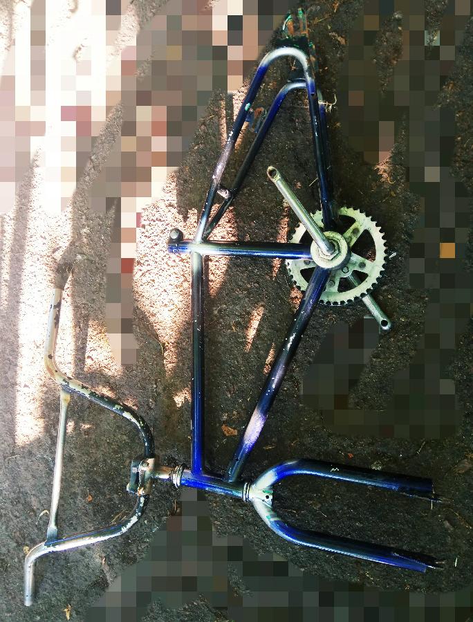 Велосипедная рама БМХ