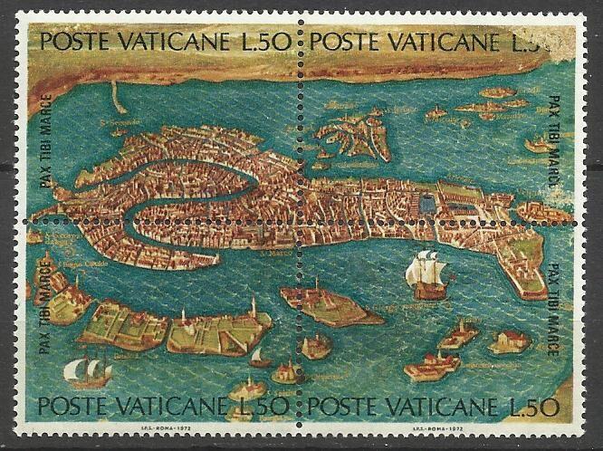 Продам марки Ватикана 1972