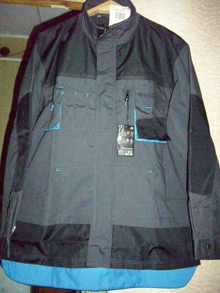 Рабочий костюм (куртка и полукомбинезон)