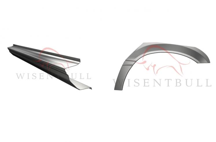 Кузовные пороги и арки для автомобилей БМВ