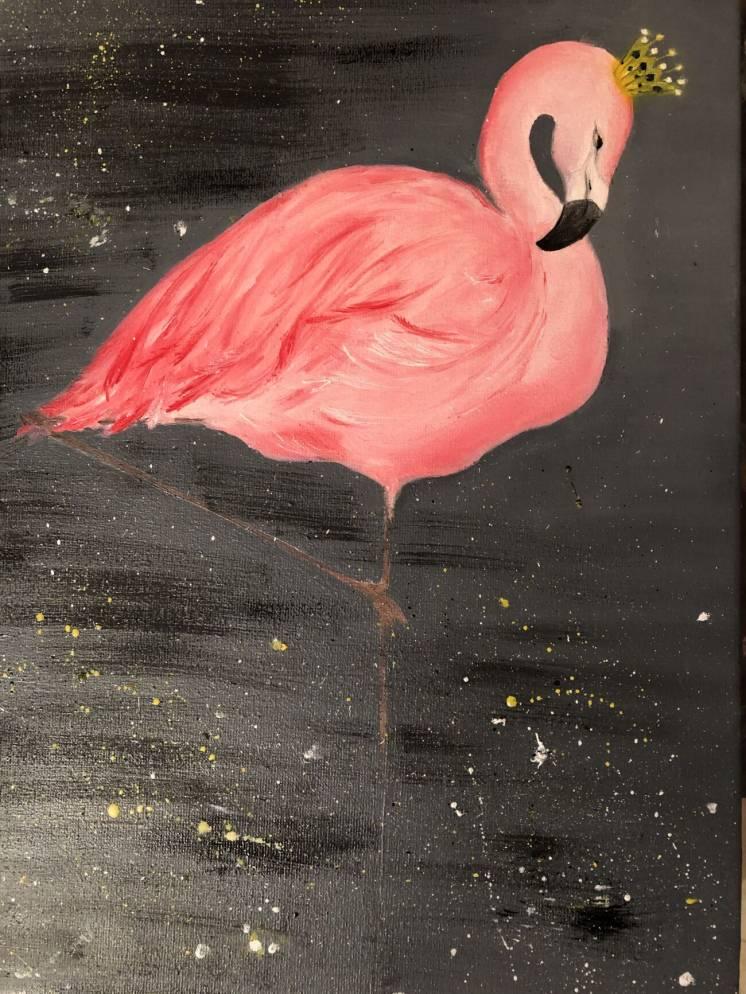 """продам картину """"Фламинго"""""""