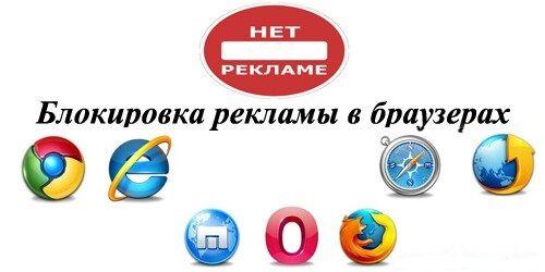 Блокировка браузерной рекламы и всплывающих окон, установка защиты.