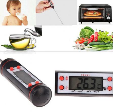 Електронний кулінарний харчовий термометр з щупом