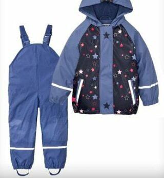 Куртка дождевик утепленная лупилу lupilu