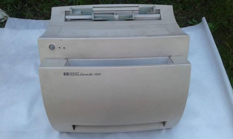 Принтер ЛАЗЕРНЫЙ HP LaserJet 1100 РАБОЧИЙ!!!