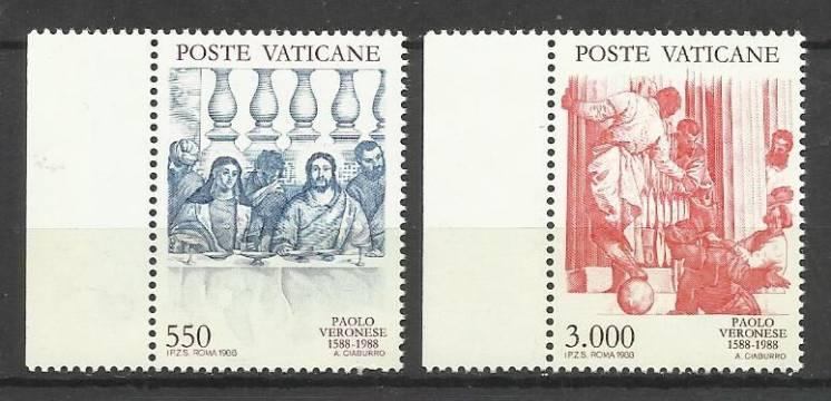 Продам марки Ватикана 1988 Веронезе