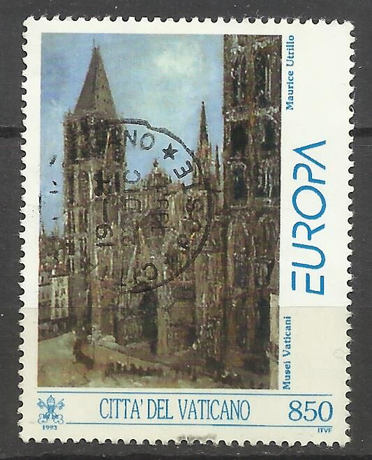 Продам марки Ватикана  1993