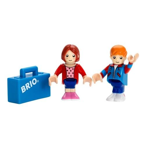 Деревянная железная дорога Brio (Брио) 33309 Пассажиры с багажом