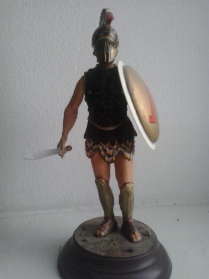 Фігурка Спартанець конверсия модель 1/16.
