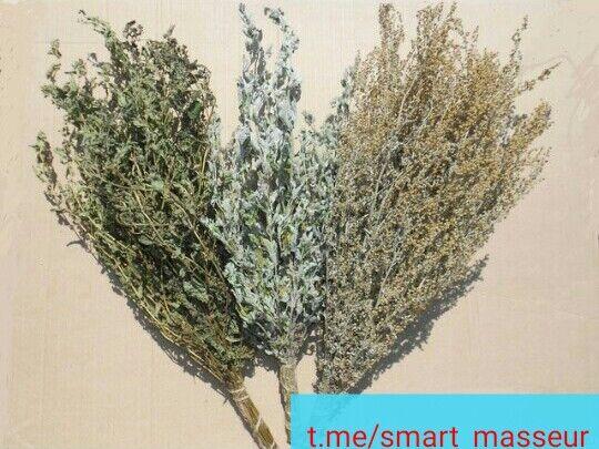 Веники из лекарственных трав для бани
