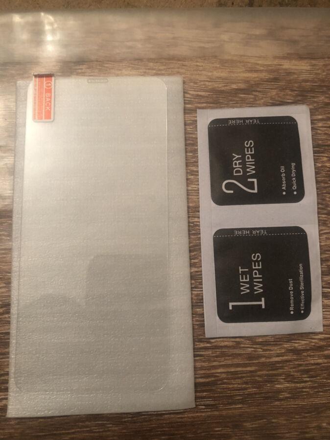 Захисне скло iPhone X
