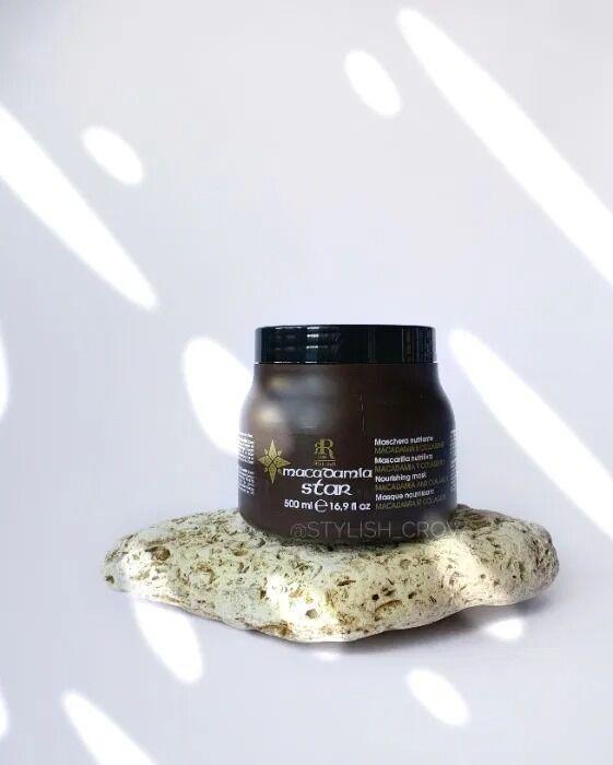 Проф. восстанавливающая маска для волос RR Line Macadamia Star Италия