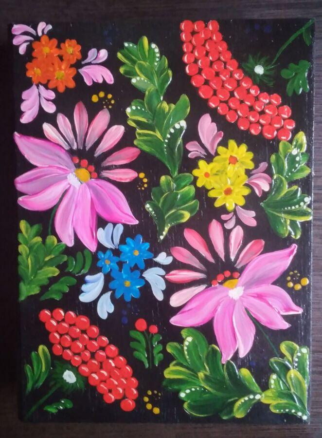 Шкатулки ручной росписи