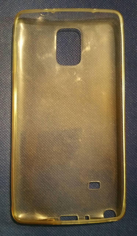 Samsung Galaxy Note 4 футляр смартфон чехол силикон бампер