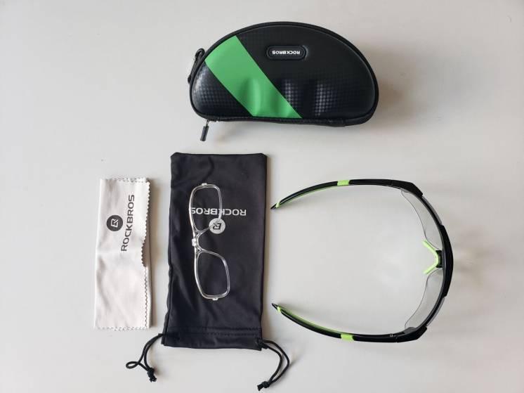 Фотохромные велосипедные очки ROCKBROS