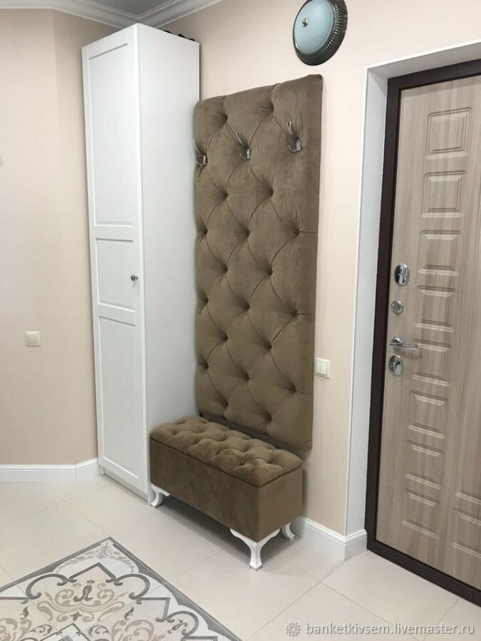 Изготовление мягкой мебели для прихожей