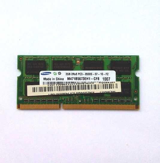 Оперативна пам'ять для ноутбука SO-DIMM DDR3 2 Гб Samsung