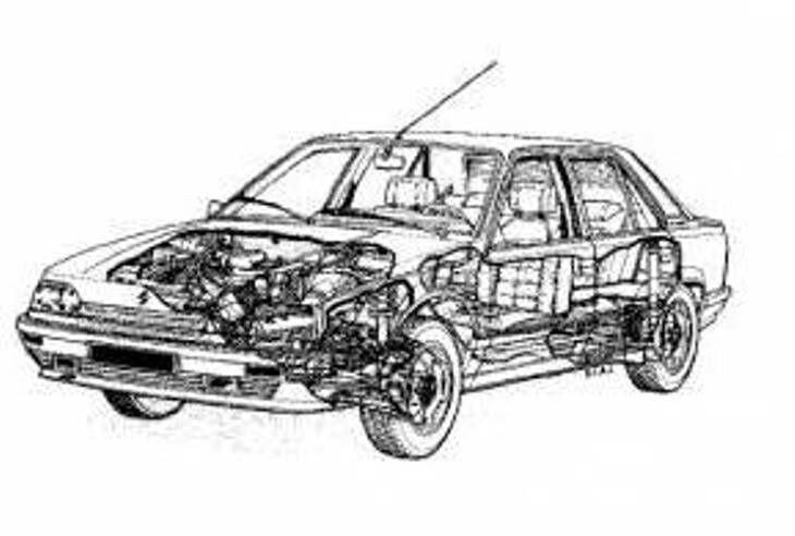 Renault-25 по запчастям Рено 25