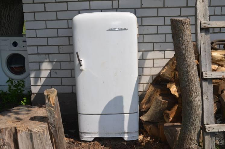 Винтажный холодильник Днепр 3 под стиль Ретро СССР робочий