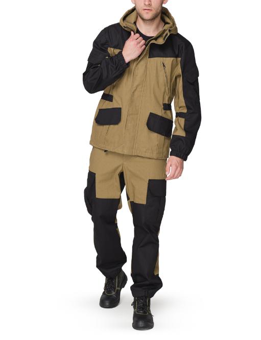 Костюм  куртка и брюки ткань палатка и Рип стоп