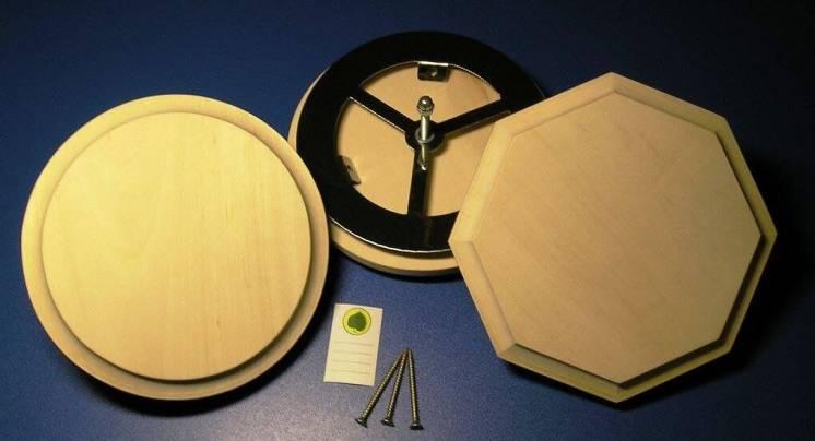 Вентиляционные заглушки для бани или сауны