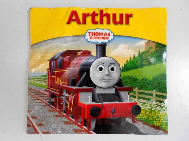 Книга на английском Arthur Thomas & Friends паровозик Томас