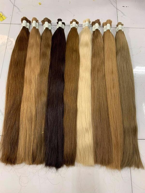 Волосся натуральне, волосся для нарощення
