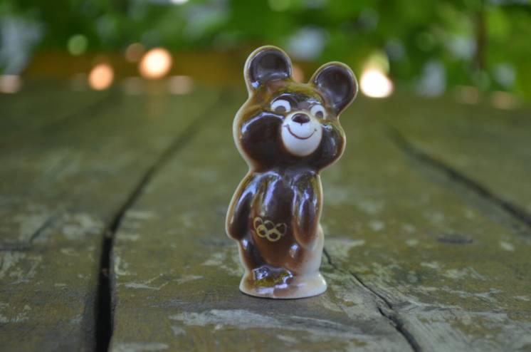 Олимпийский мишка маленький олимпиада 80 СССР
