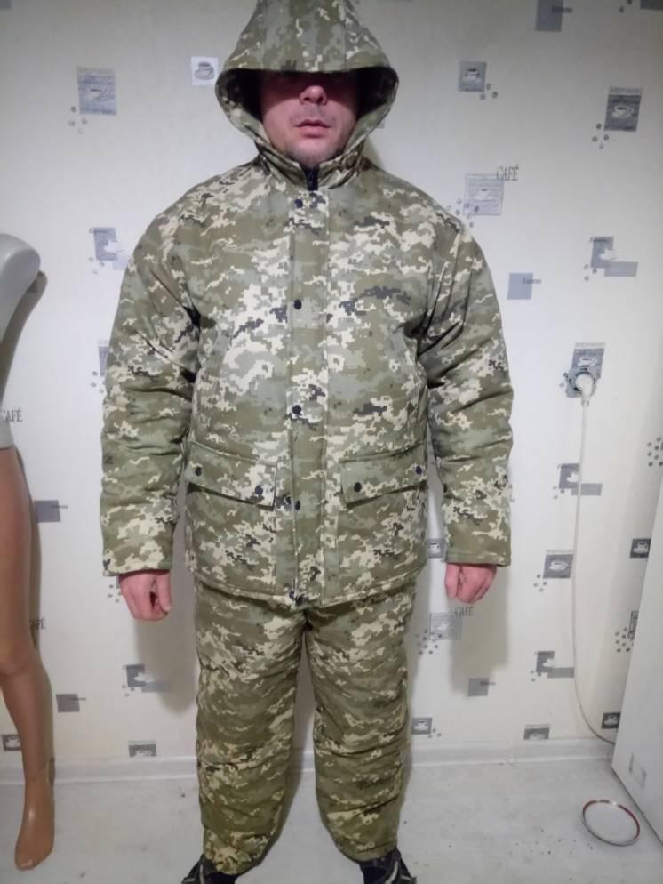 Новый костюм (с полукомбезом). Куртка удлиненная. Рыбалка/охота/туризм