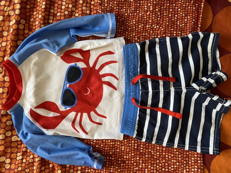 Купальник купальный костюм для малыша