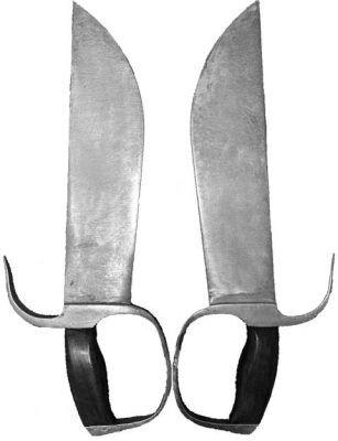 Ножи Вин-чун Бат-чам-дао,Він-чун ножі Бат-чам-дао.